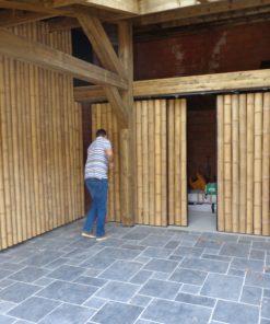 Tiges, cannes et mâts de bambou