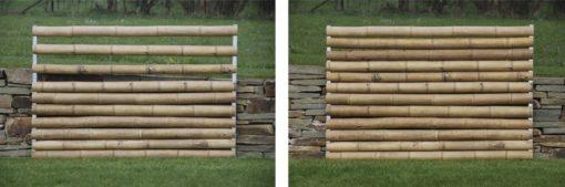 Palissade Pleine cannes mortaisées