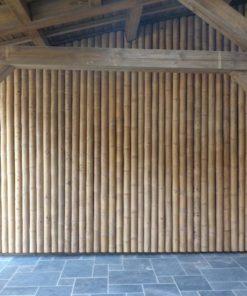 Canne et mât de bambou (4m)Transport sur Devis