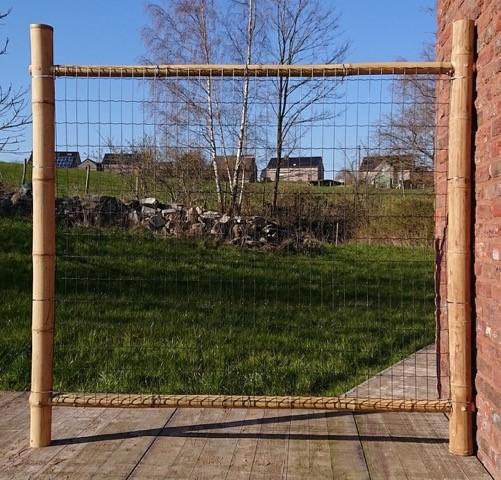 barriere en bambou